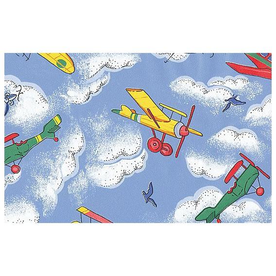 Samolepící fólie 11695 Letadla 67,5cm x 15m