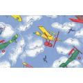 Samolepící fólie 11697 Letadla 90cm x 15m