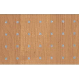 Samolepiaca fólia 11633 Jelša svetlá strieborné štvorčeky 45cm x 15m