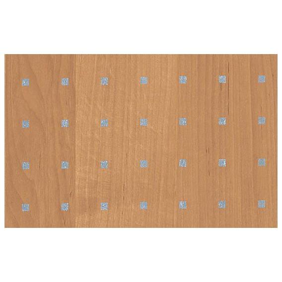 Samolepící fólie 11635 Olše světlá stříbrné čtverečky 67,5cm x 15m