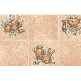 Samolepící fólie 10216 Pot hnědá kachličky 45cm x 15m