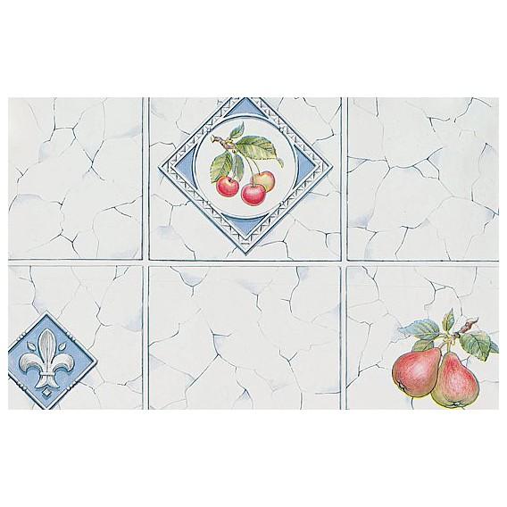 Samolepící fólie 11843 Ovoce šedá kachličky 45cm x 15m
