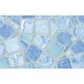 Samolepiaca fólia 10743 Mozaika modrá 90cm x 15m