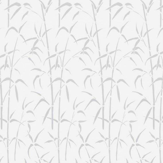 Samolepící transparentní fólie 200-3007 Bamboo bílá 45cm x 15m
