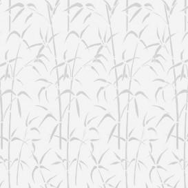 Samolepící transparentní fólie 200-8326 Bamboo bílá 67,5cm x 15m
