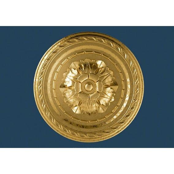 Zlatá polystyrenová rozeta PR-6SG Ø300mm