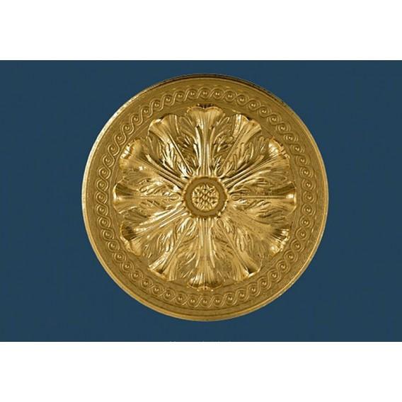 Zlatá polystyrenová rozeta PR-8SG Ø470mm