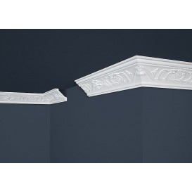 Polystyrénová stropná lišta PB-6 2m (53x53mm)