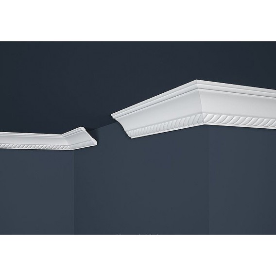 Polystyrenová stropní lišta PB-7 2m (53x53mm)