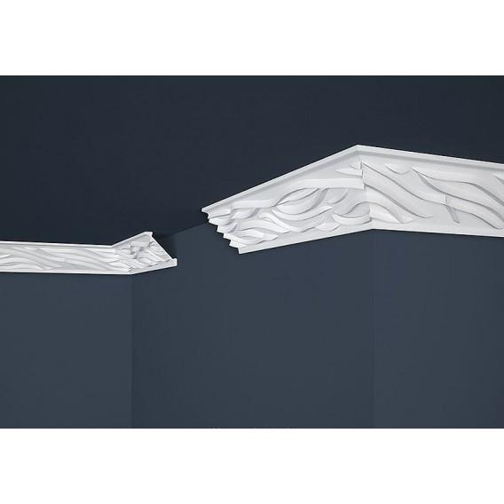 Polystyrenová stropní lišta PB-14 2m (54,5x54,5mm)