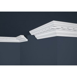 Polystyrénová stropná lišta PB-15 2m (80x61mm)