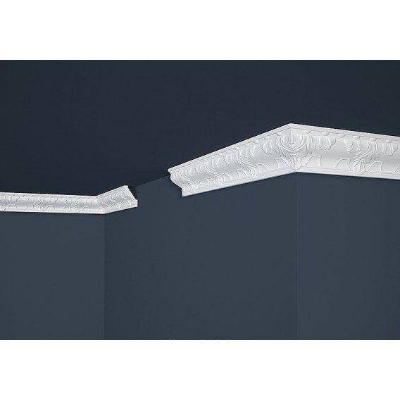 Polystyrénová stropná lišta PB-16 2m (63x43,7mm)