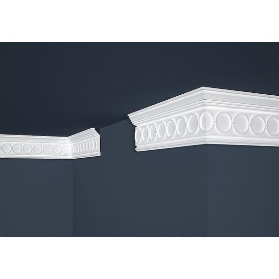 Polystyrenová stropní lišta PB-30 2m (28x81mm)