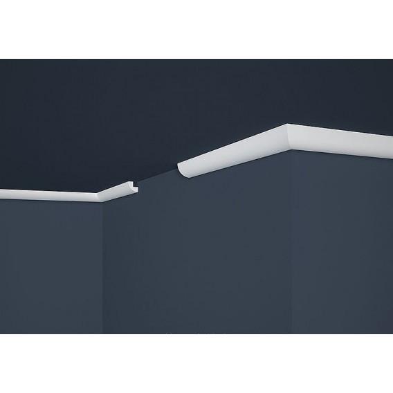 Polystyrénová stropná lišta PE-1 2m(22x22mm)