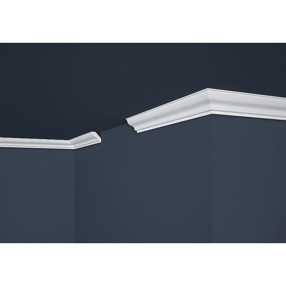 Polystyrenová stropní lišta PE-4 2m (30x30mm)