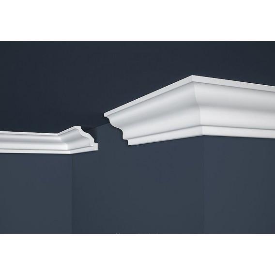 Polystyrénová stropná lišta PE-8 2m(70x70mm)