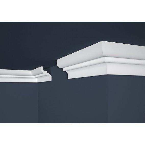 Polystyrenová stropní lišta PE-9 2m (62x80mm)