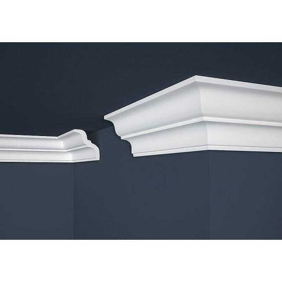 Polystyrenová stropní lišta PE-10 2m (80x87mm)