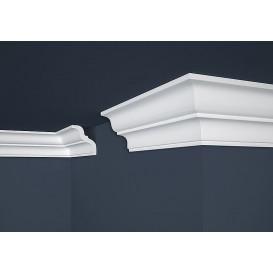 Polystyrénová stropná lišta PE-10 2m(80x87mm)