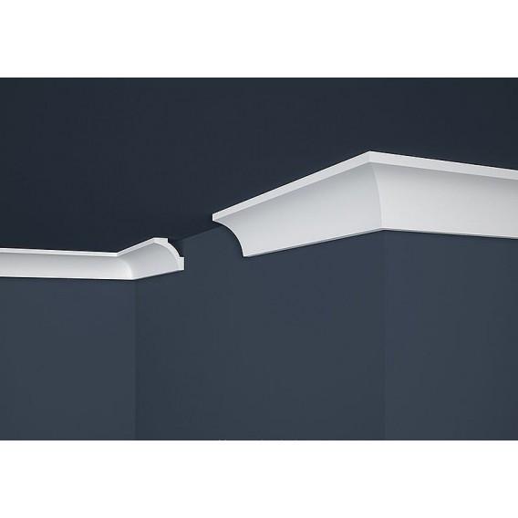 Polystyrénová stropná lišta PE-12 2m(50x50mm)