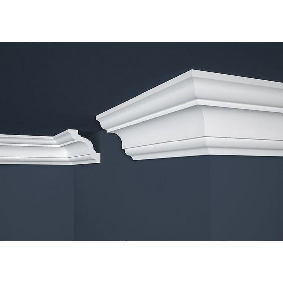 Polystyrenová stropní lišta PE-16 2m (96x96mm)