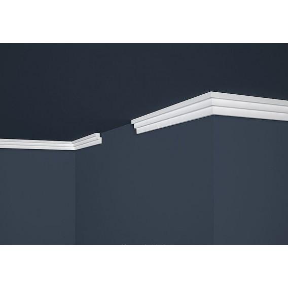 Polystyrenová stropní lišta PE-17 2m (18x30mm)