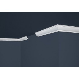 Polystyrenová stropní lišta PE-28 2m (30x30mm)