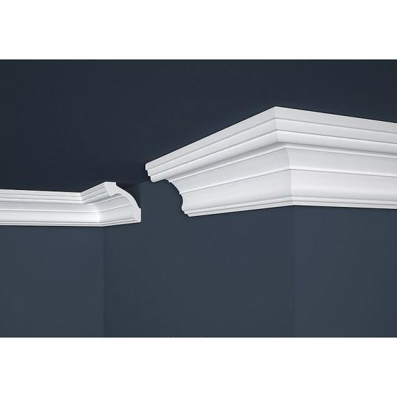 Polystyrenová stropní lišta PE-34 2m (80x80mm)