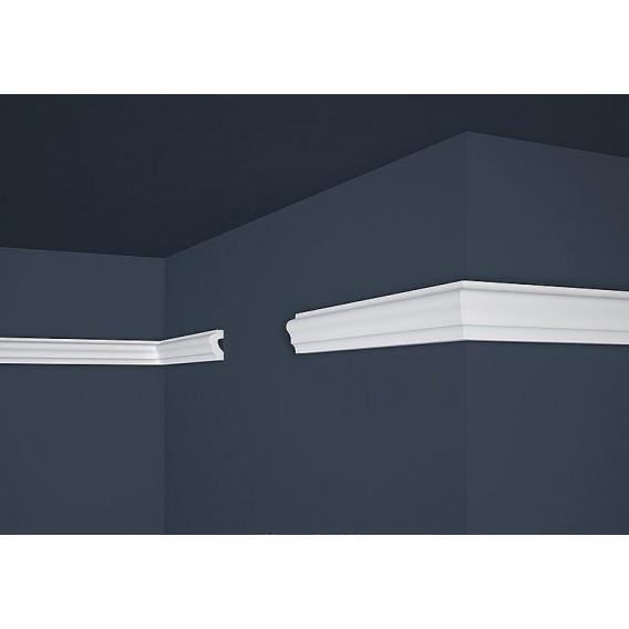 Polystyrenová nástěnná lišta PE-19 2m (21x40mm)