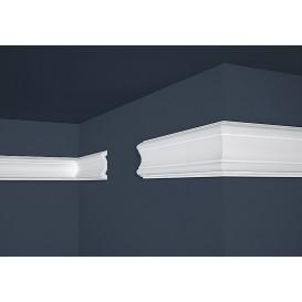 Polystyrenová nástěnná lišta PE-30 2m (20x80mm)