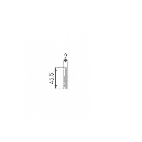 Polystyrénový rohovník PNB-10-01 4ks (220x220mm) k liště PB-10