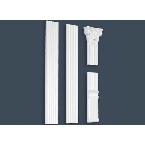 Polystyrénový pilaster PPL-01 210x3000mm