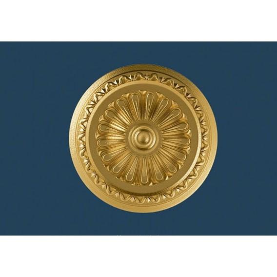 Zlatá polystyrenová rozeta PR-15SG Ø340mm