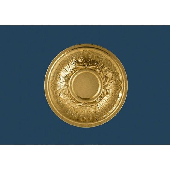 Zlatá polystyrenová rozeta PR-17SG Ø280mm