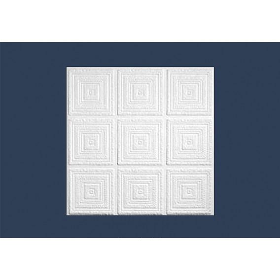 Polystyrenová stropní kazeta zakládací strop 10mm-1m2