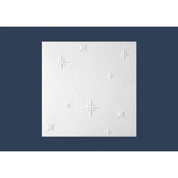 Polystyrenová stropní kazeta zakládací Zima 10mm-1m2