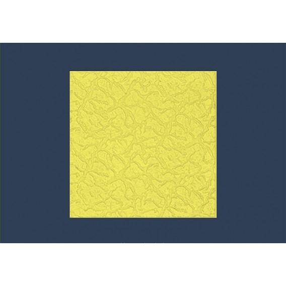 Polystyrénová stropná kazeta zakladacia Bryza žltá 10mm-1m2