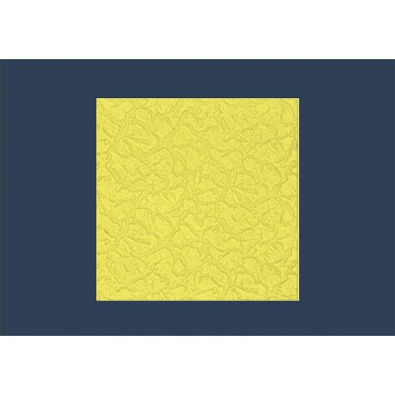 Polystyrenová stropní kazeta zakládací Bryza žlutá 10mm-1m2