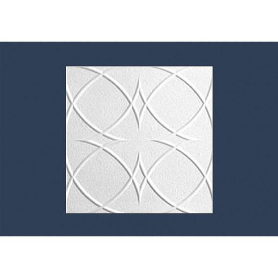 Polystyrenová stropní kazeta Saturn 10mm-1m2