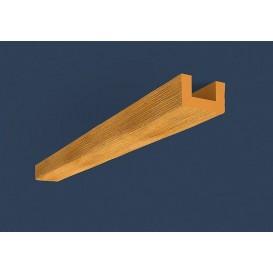 Rustikální polyuretanový trám světlý 4m (6x9cm)