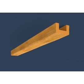 Rustikálny polyuretánový trám svetlý 4m(6x9cm)