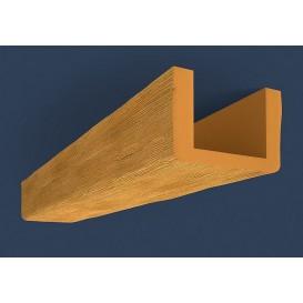 Rustikálny polyuretánový trám svetlý 4m(13x20cm)