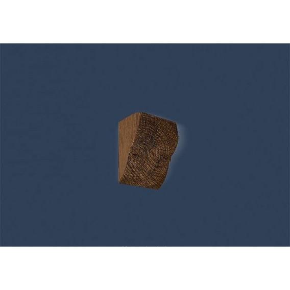 Rustikálna polyuretánová konzola tmavá 6x9cm
