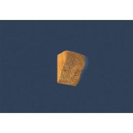 Rustikální polyuretanová konzola světla 6x9cm