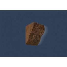 Rustikálna polyuretánová konzola tmavá 9x12cm