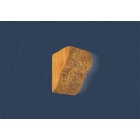 Rustikální polyuretanová konzola světla 9x12cm