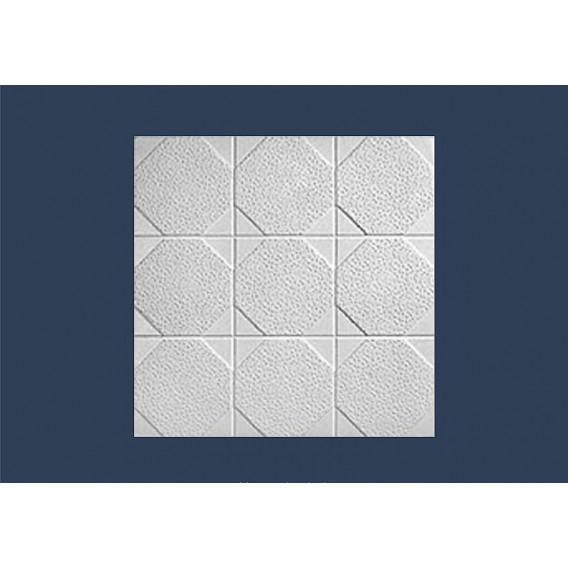 Polystyrenová stropní kazeta Okta 10mm-1m2