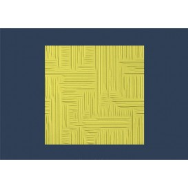 Polystyrénová stropná kazeta Norma žltá 10mm-1m2