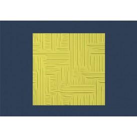 Polystyrenová stropní kazeta Norma žlutá 10mm-1m2