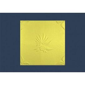 Polystyrenová stropní kazeta Natura žlutá 10mm-1m2